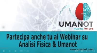 Partecipa ai Webinar gratuiti su Analisi Fisica e il software di trading Umanot